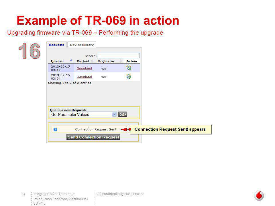 Example of TR-069 in action
