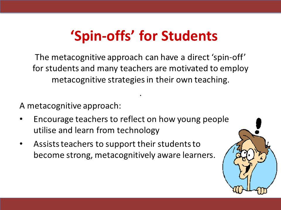 'Spin-offs' for Students