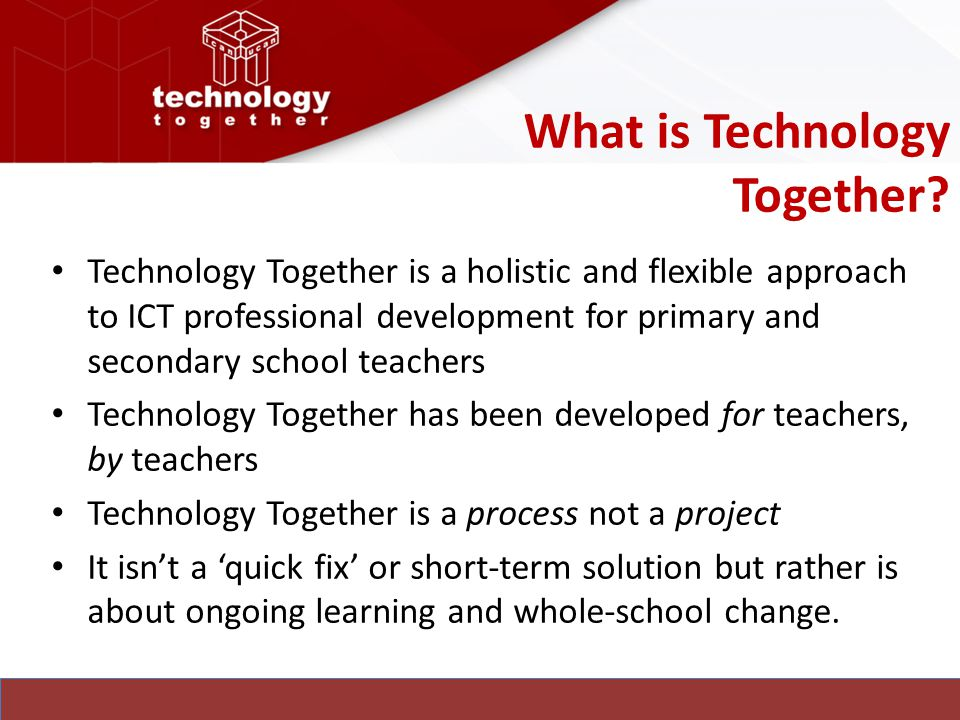 What is Technology Together