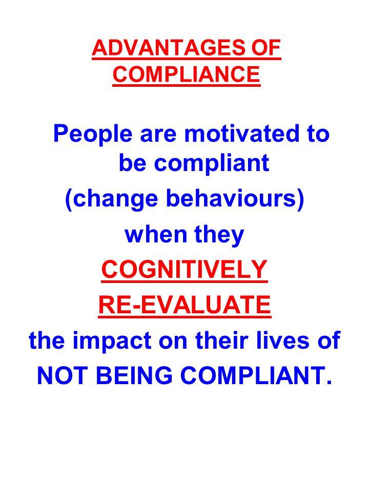 ADVANTAGES OF COMPLIANCE