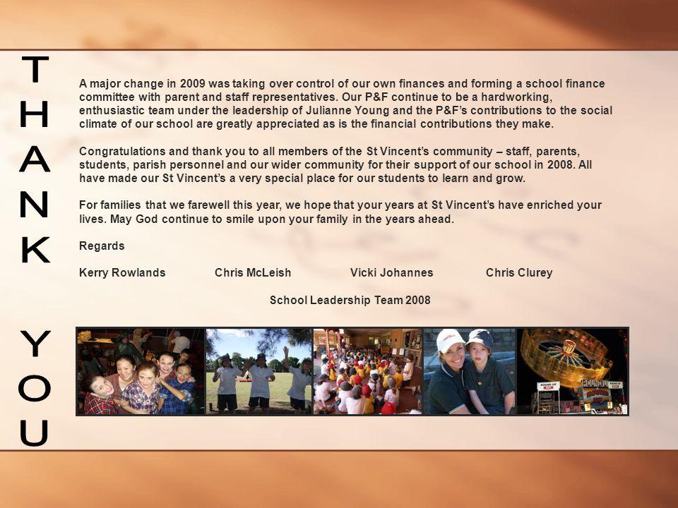 School Leadership Team 2008