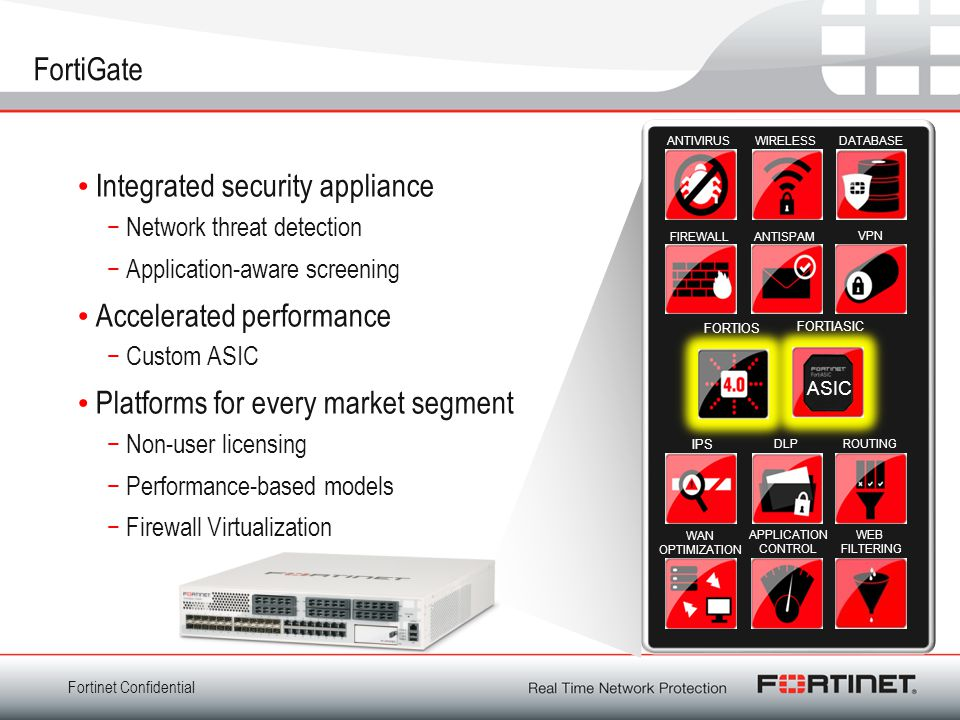 Integrated security appliance