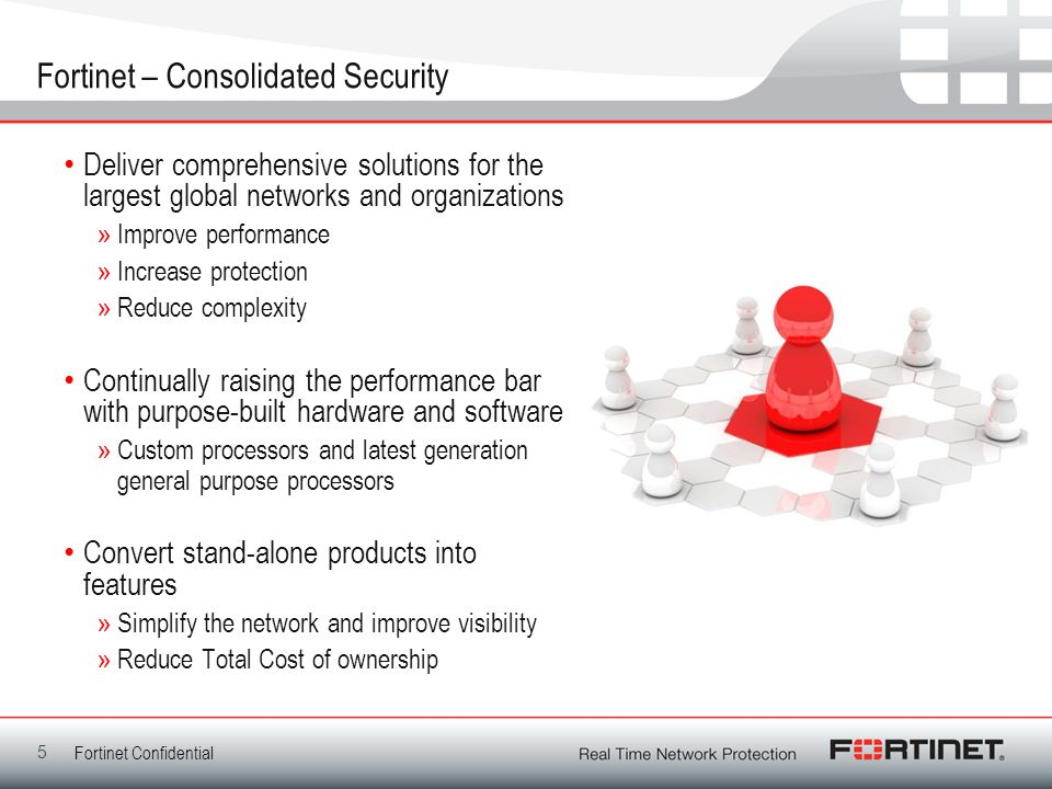 Fortinet – Consolidated Security