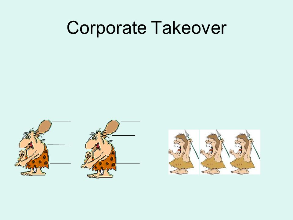 Corporate Takeover