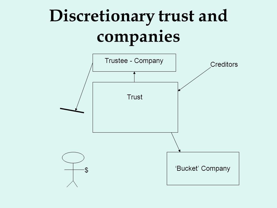 Discretionary trust and companies