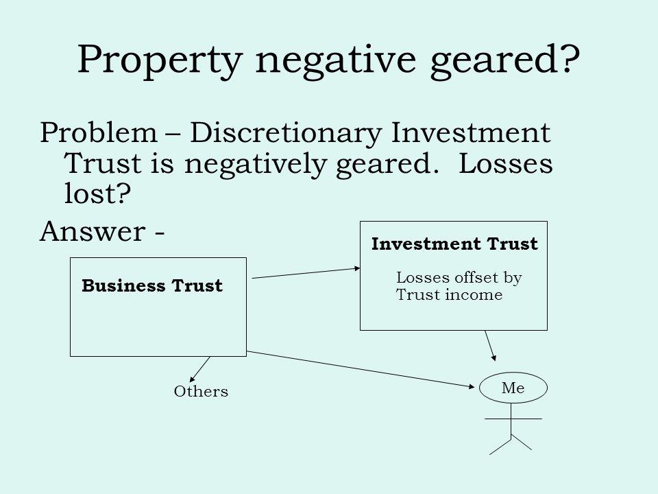 Property negative geared
