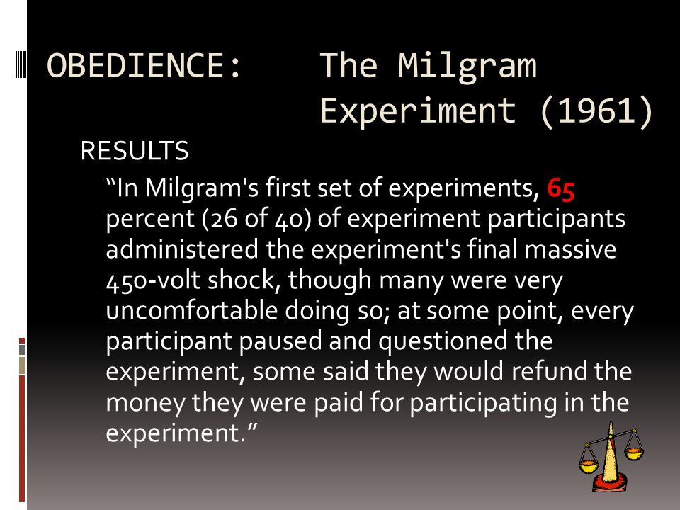 OBEDIENCE: The Milgram Experiment (1961)