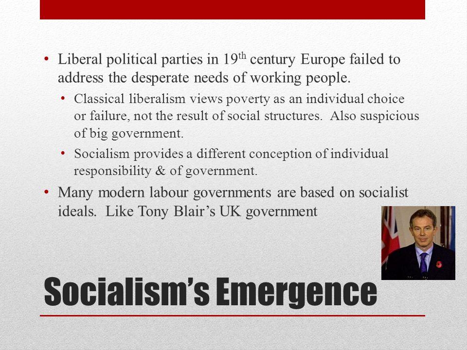 Socialism's Emergence