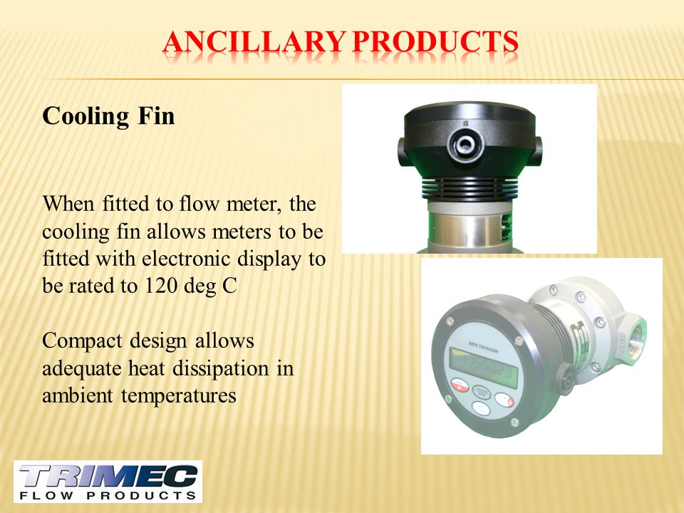Ancillary Products Cooling Fin