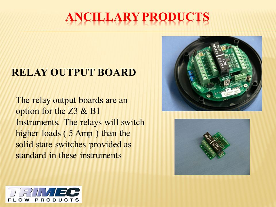 Ancillary Products RELAY OUTPUT BOARD