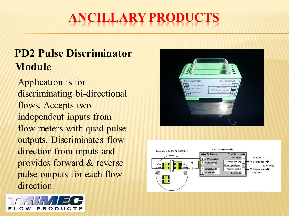 Ancillary Products PD2 Pulse Discriminator Module