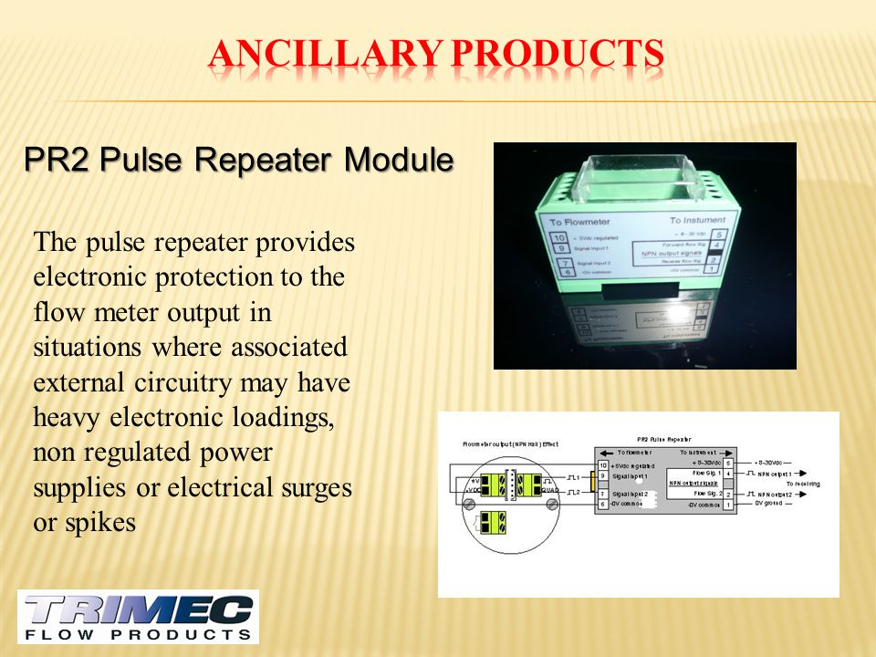 Ancillary Products PR2 Pulse Repeater Module