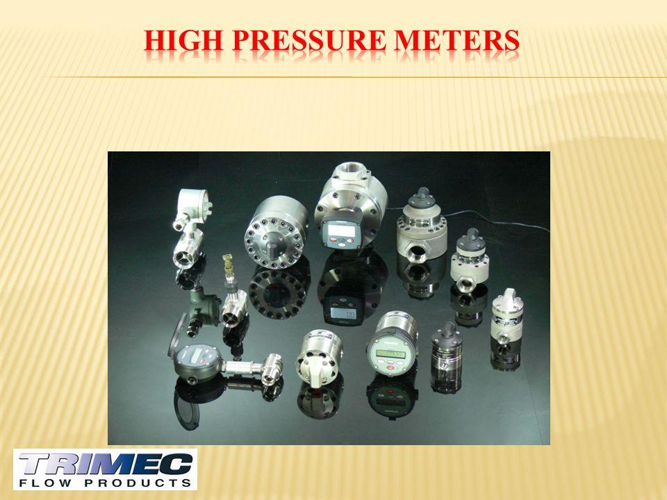 High Pressure Meters