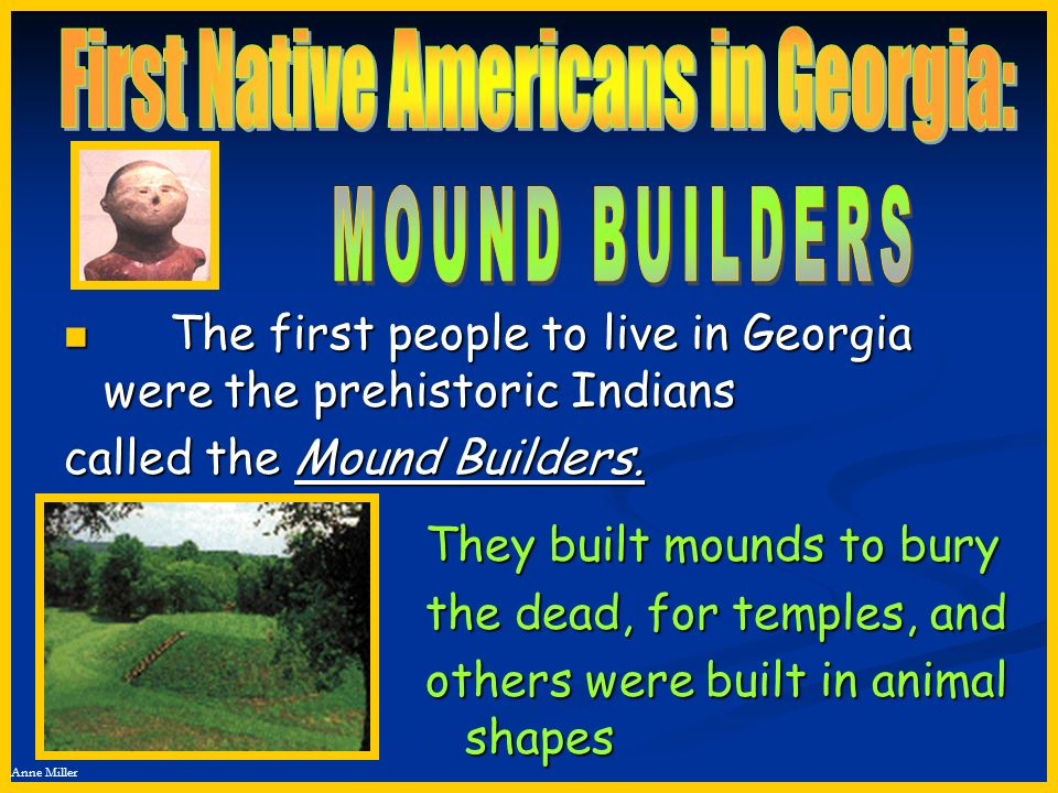 First Native Americans in Georgia: