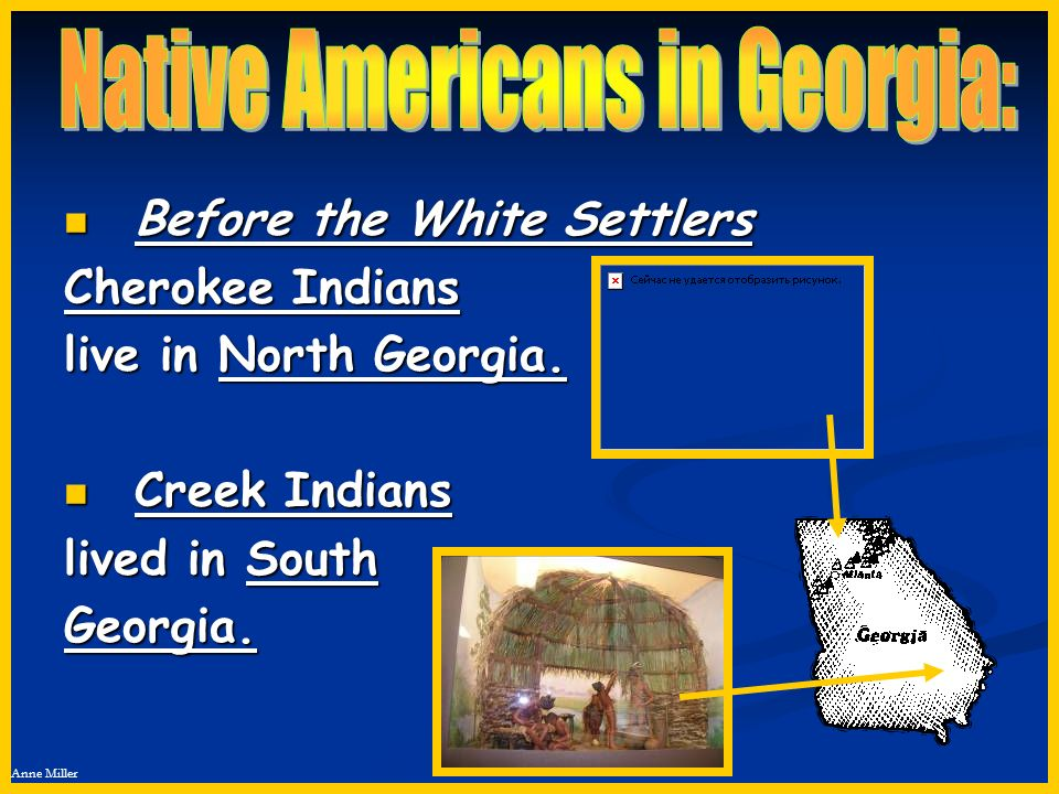 Native Americans in Georgia: