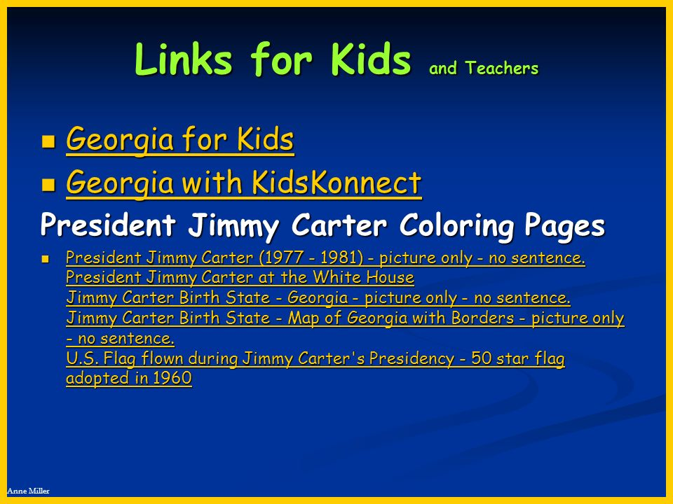 Links for Kids and Teachers