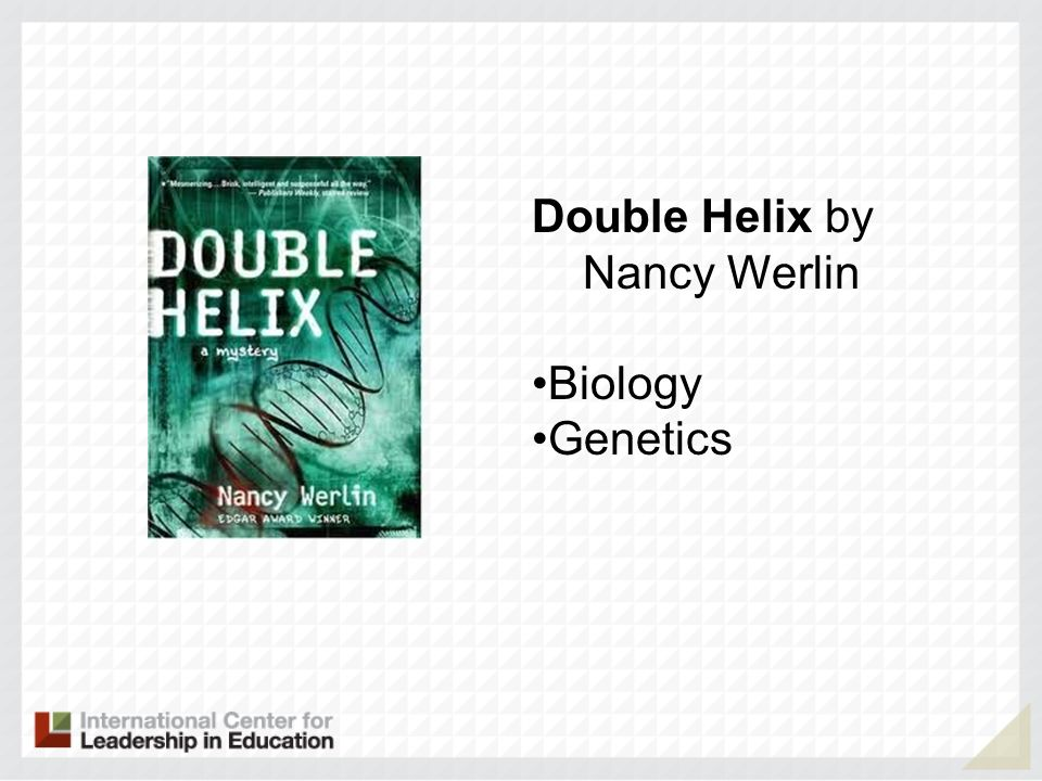 Double Helix by Nancy Werlin Biology Genetics