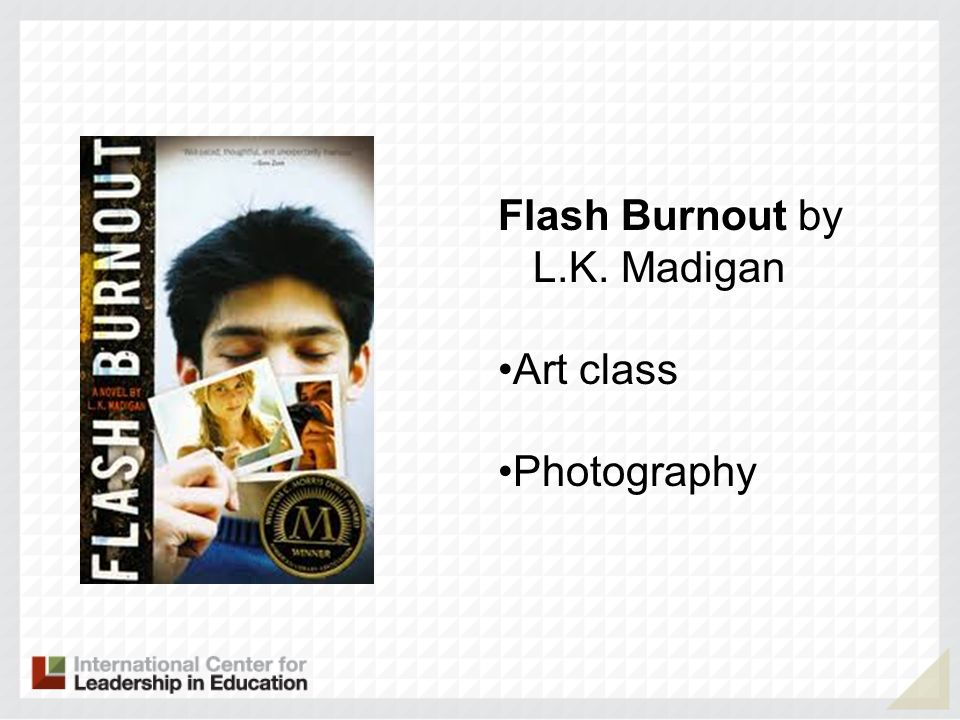 Flash Burnout by L.K. Madigan Art class Photography