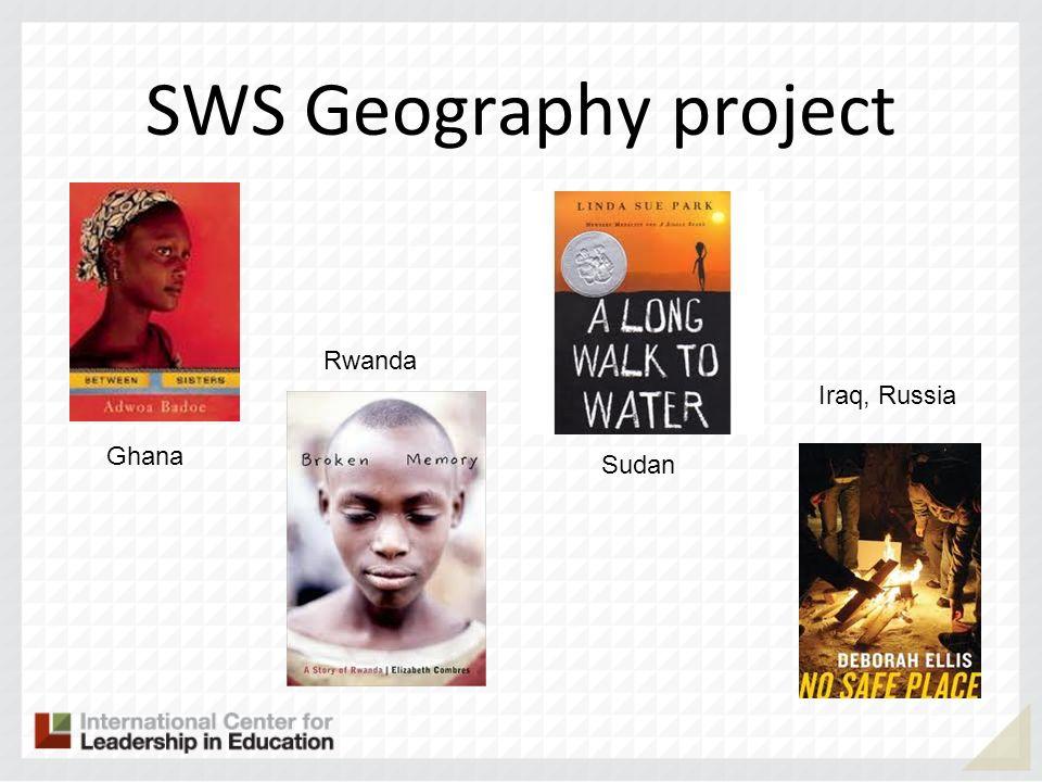 SWS Geography project Rwanda Iraq, Russia Ghana Sudan