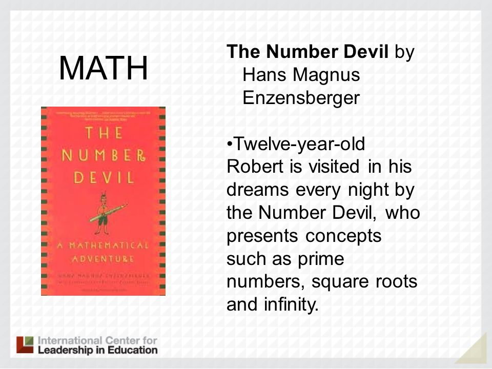 MATH The Number Devil by Hans Magnus Enzensberger