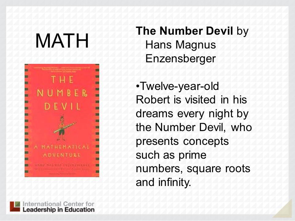 MATH The Number Devil by Hans Magnus Enzensberger