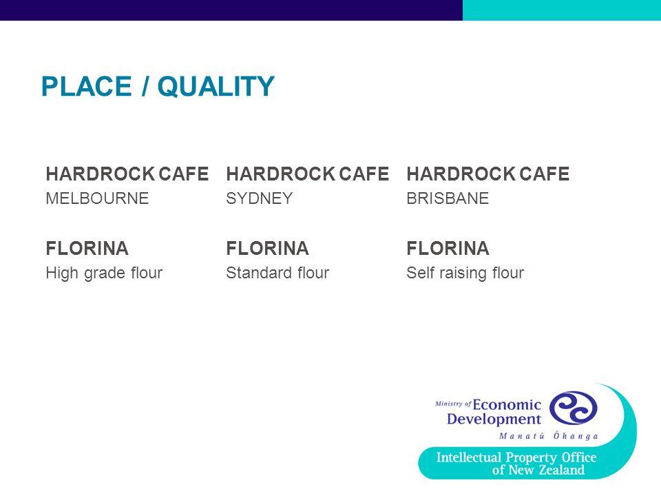 PLACE / QUALITY HARDROCK CAFE FLORINA MELBOURNE SYDNEY BRISBANE