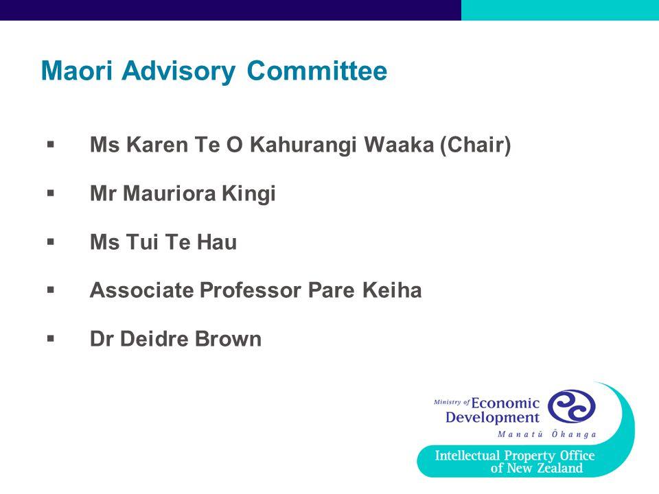 Maori Advisory Committee