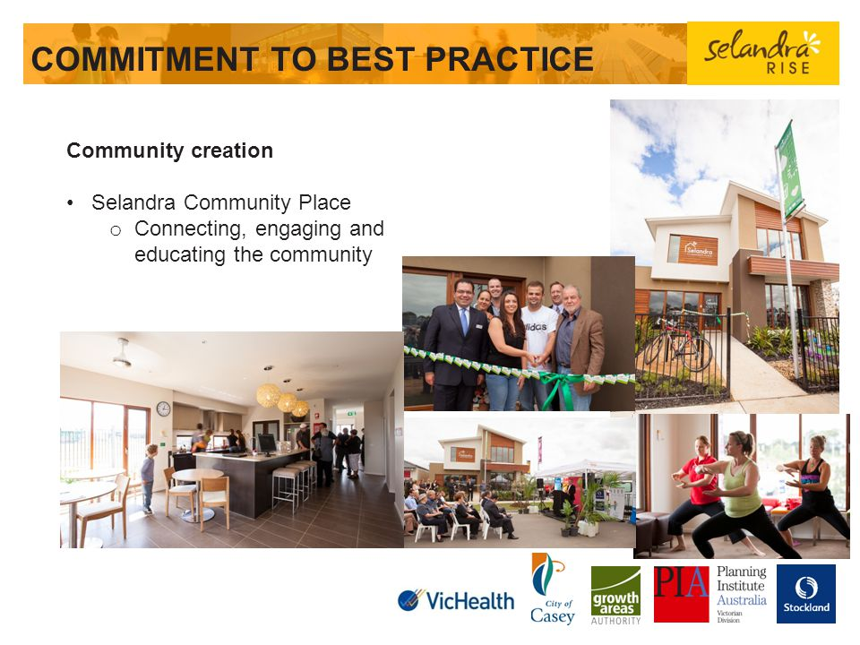 COMMITMENT TO BEST PRACTICE