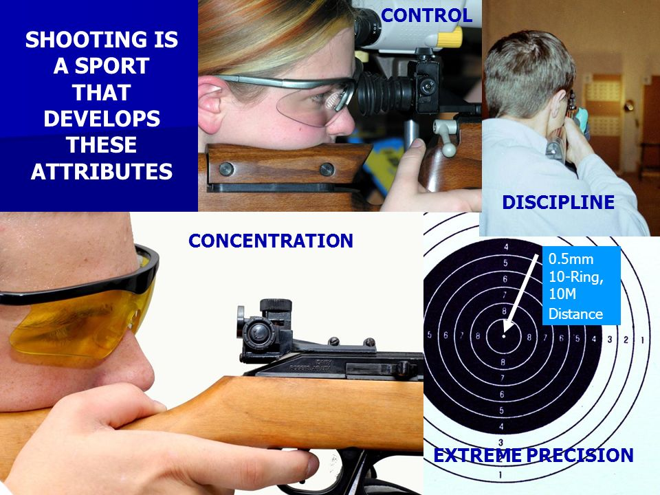 SHOOTING IS A SPORT THAT DEVELOPS THESE ATTRIBUTES