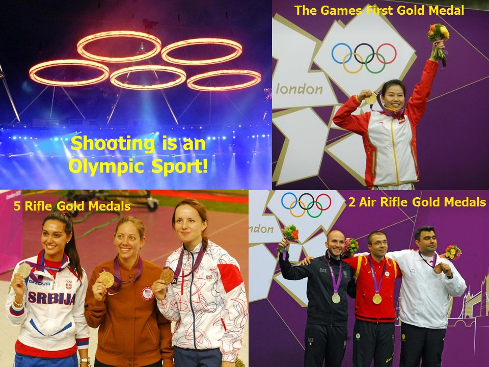 Shooting is an Olympic Sport!