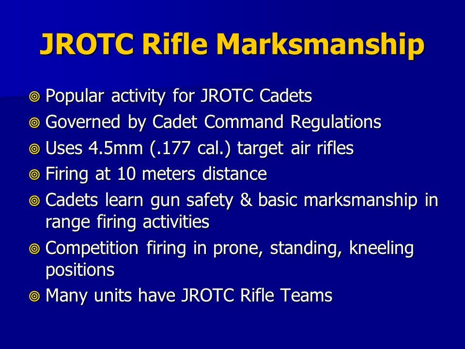 JROTC Rifle Marksmanship