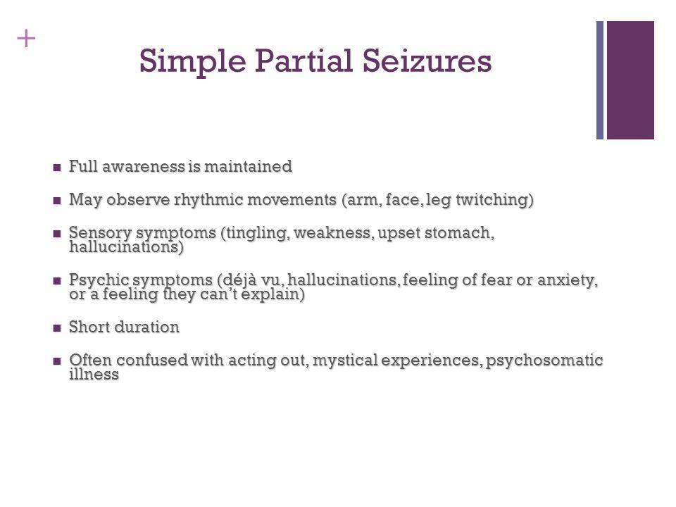 Simple Partial Seizures