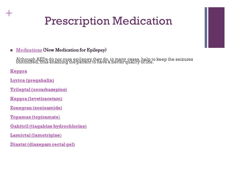 Prescription Medication