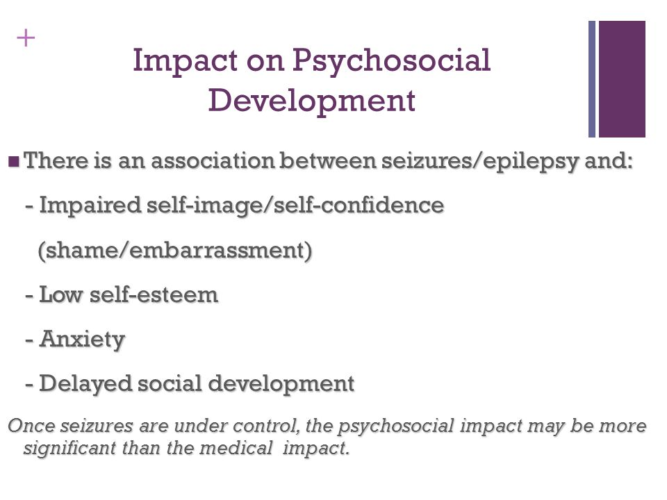 Impact on Psychosocial Development