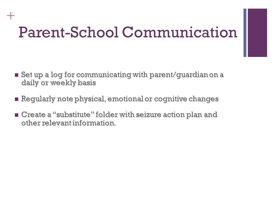 Parent-School Communication