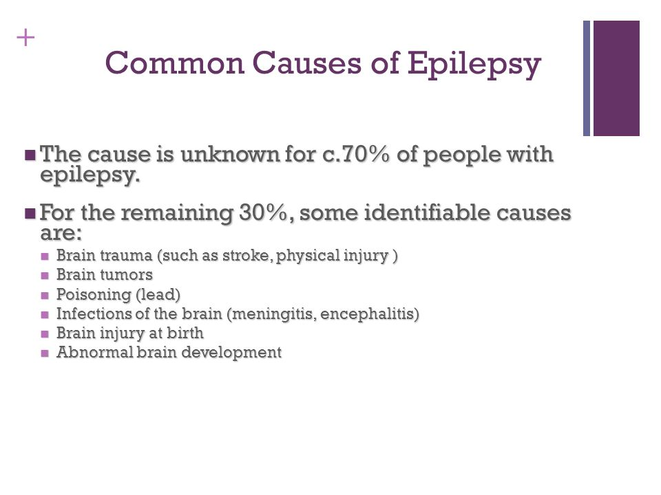Common Causes of Epilepsy