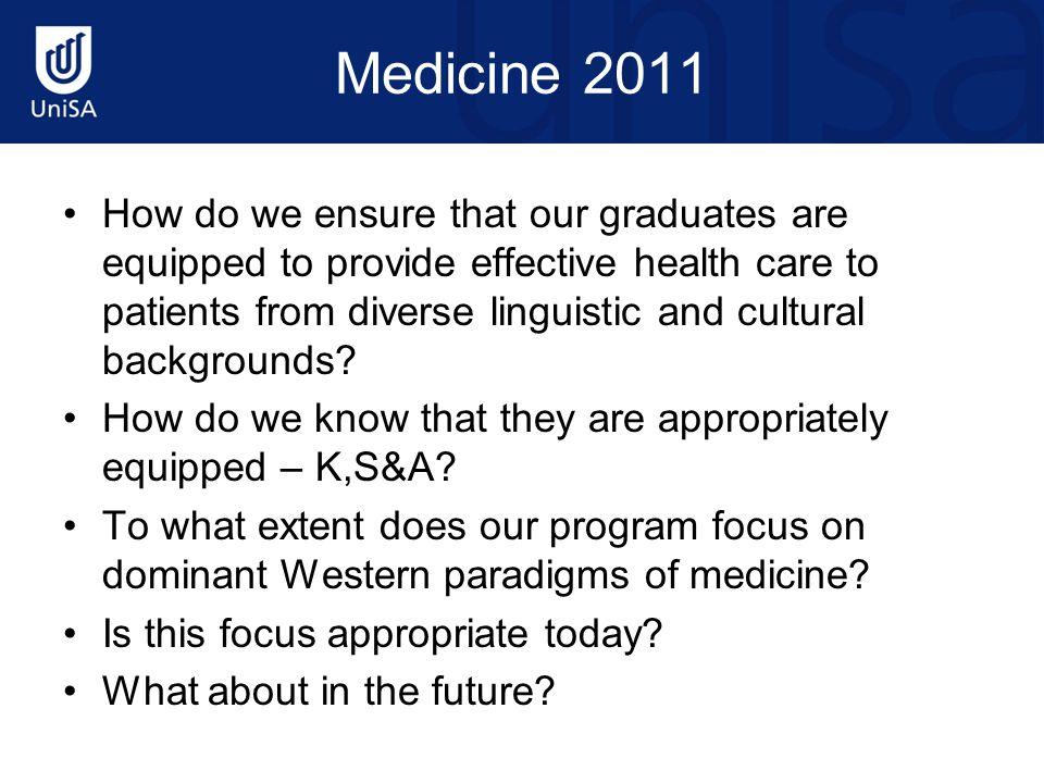 Medicine 2011