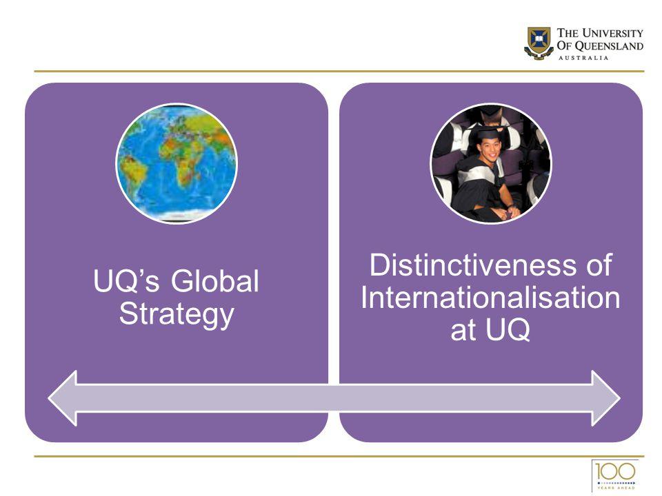 Distinctiveness of Internationalisation at UQ