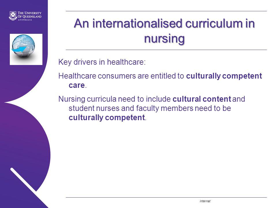 An internationalised curriculum in nursing