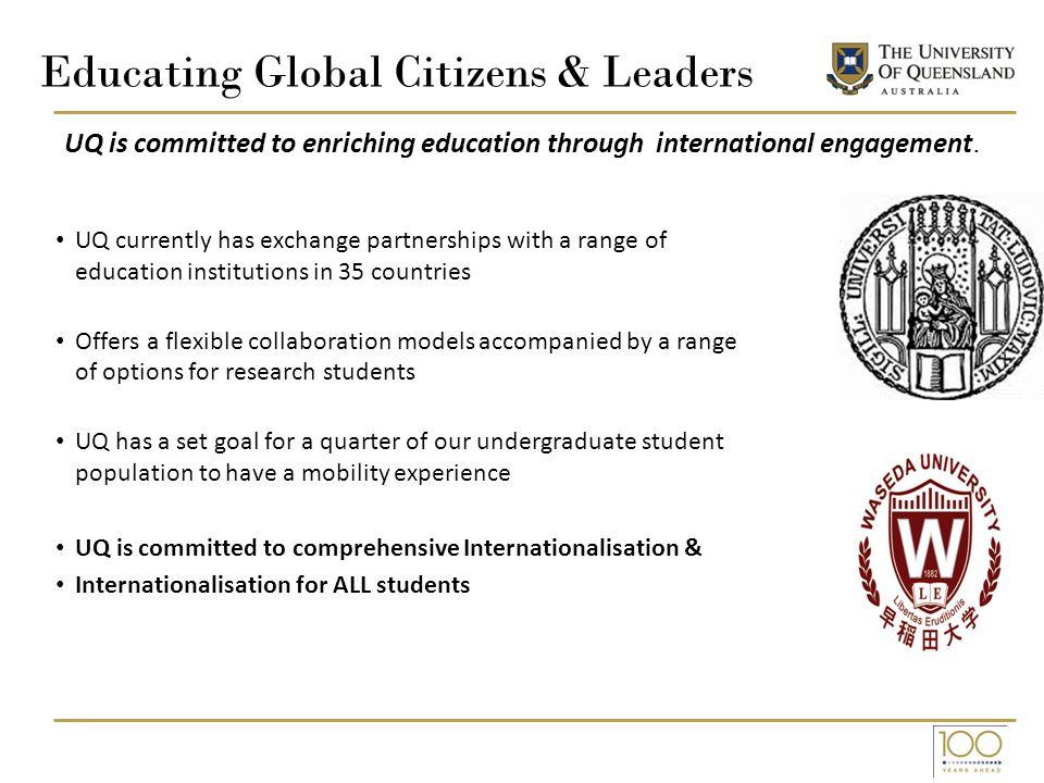 Educating Global Citizens & Leaders