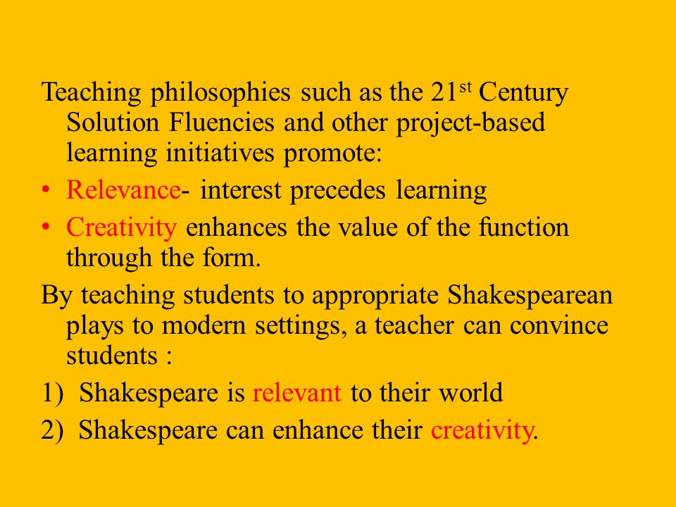 Teaching philosophies such as the 21st Century Solution Fluencies and other project-based learning initiatives promote: