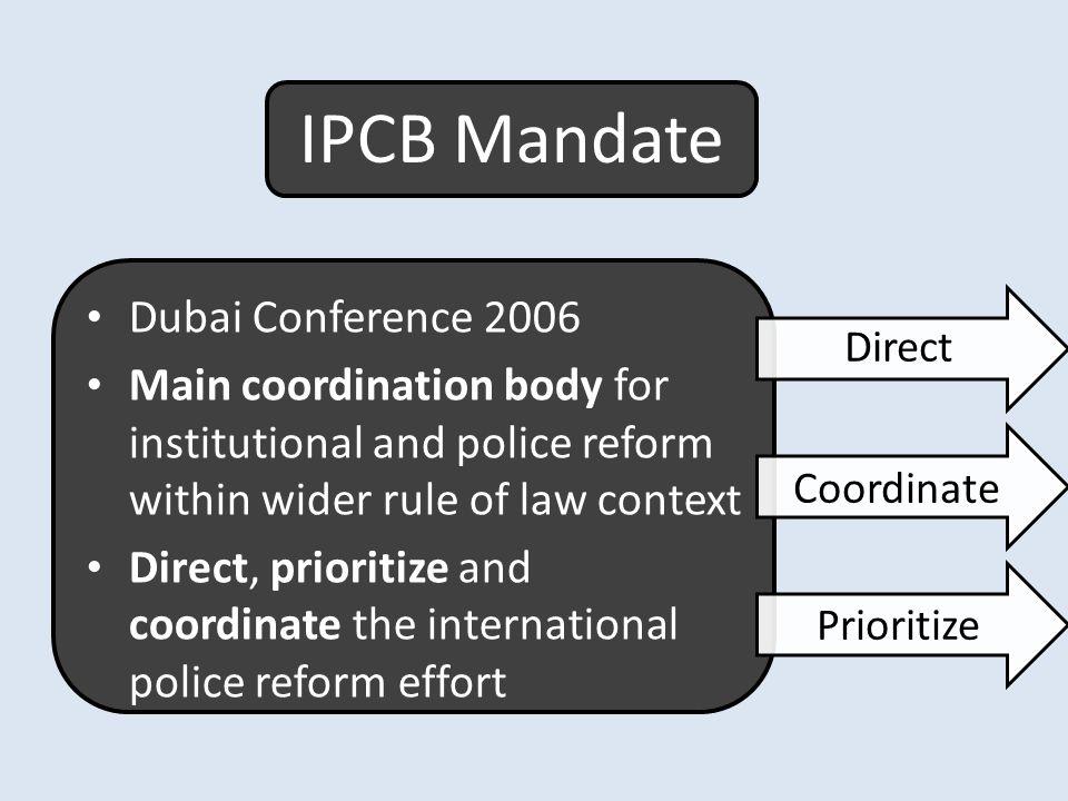 IPCB Mandate Dubai Conference 2006