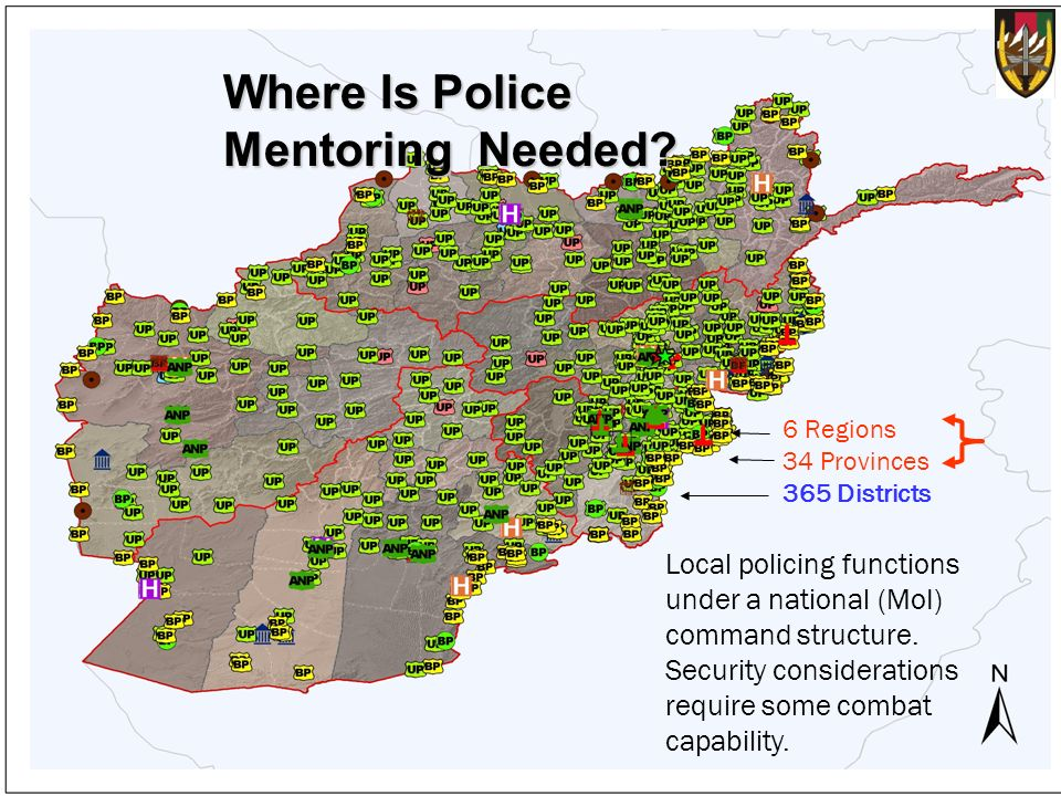 Where Is Police Mentoring Needed