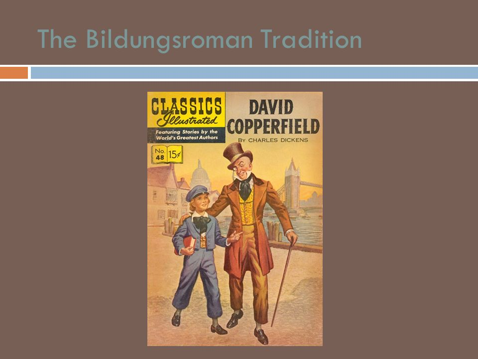 The Bildungsroman Tradition