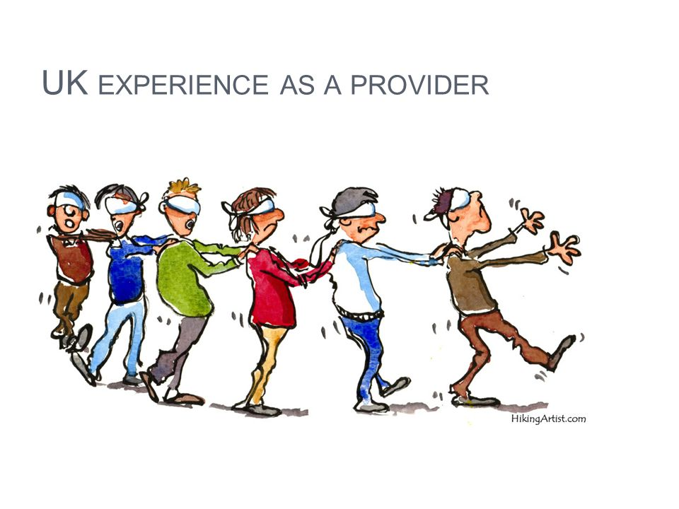 UK experience as a provider