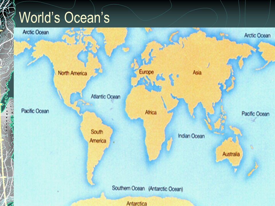 World's Ocean's