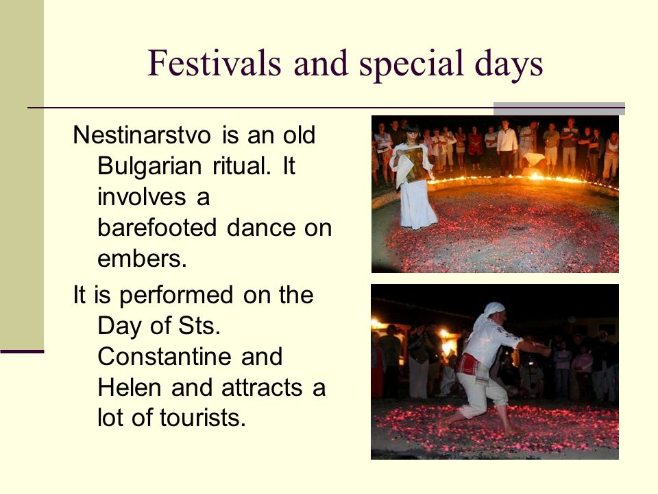 Festivals and special days
