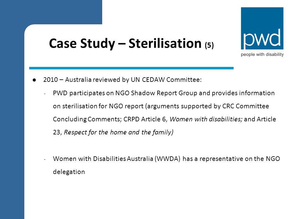 Case Study – Sterilisation (5)