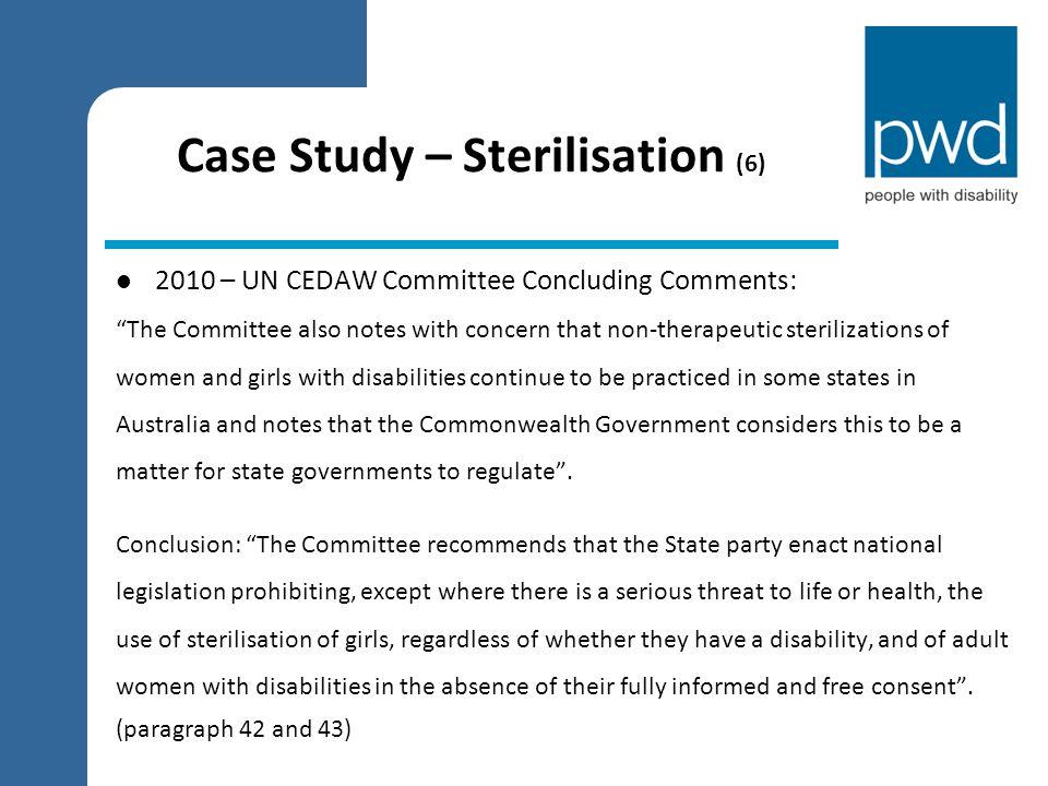Case Study – Sterilisation (6)
