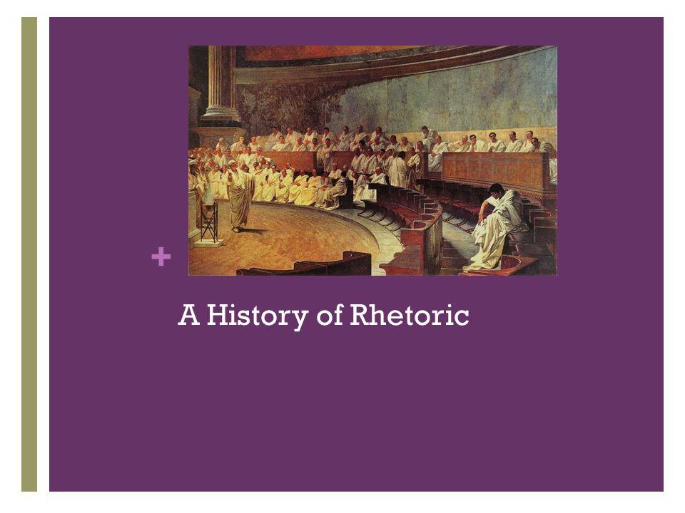 A History of Rhetoric
